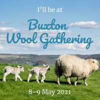 Buxton Wool Gathering 2021 social media badge