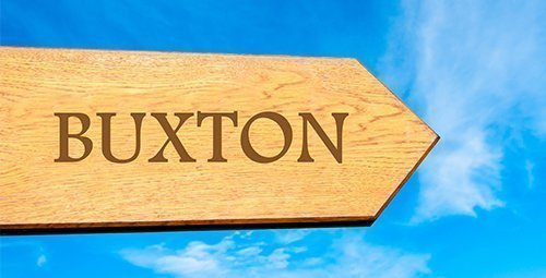 Buxton signpost