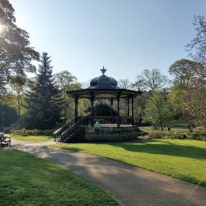 Bandstand in Buxton Pavilion Gardens